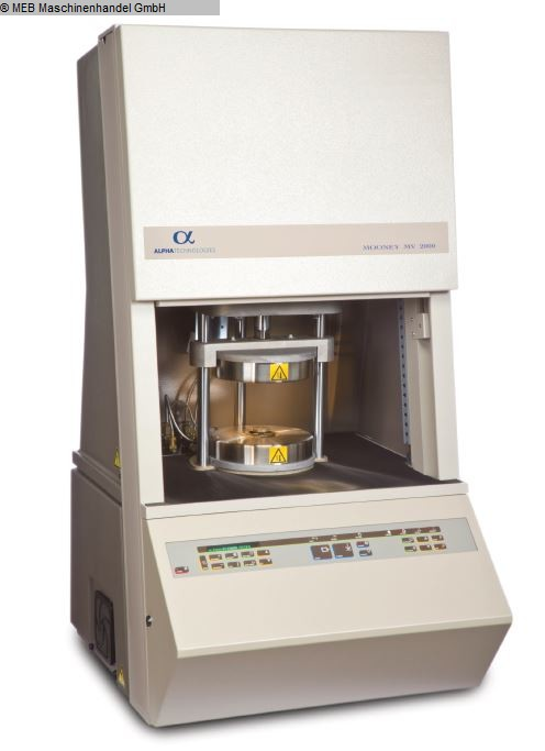gebruikte Elastomer-Testende Mooney Viscometer ALPHA TECHNOLOGIES Mooney Viscometer MV 2000