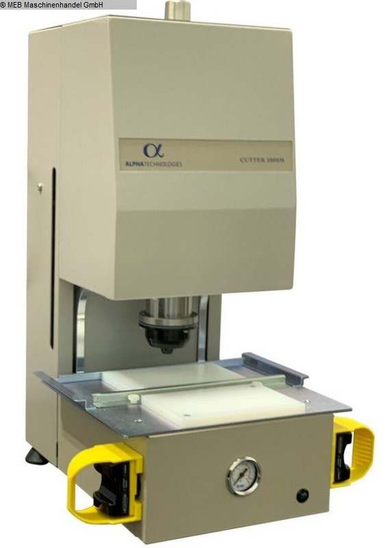 used Elastomer-Testing Rheometer ALPHA TECHNOLOGIES Sample Cutter
