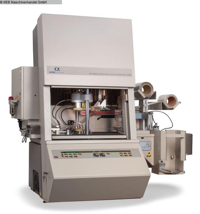 utilizzato RNA test Elastomero (Analizzatore di processo di gomma) ALPHA TECHNOLOGIES RPA 2000