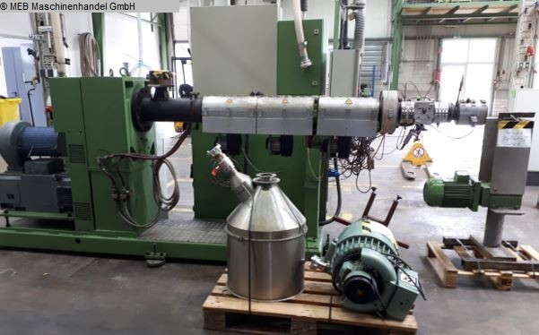 used Rubber processing Extruders (plastic) KUHNE K70-24D