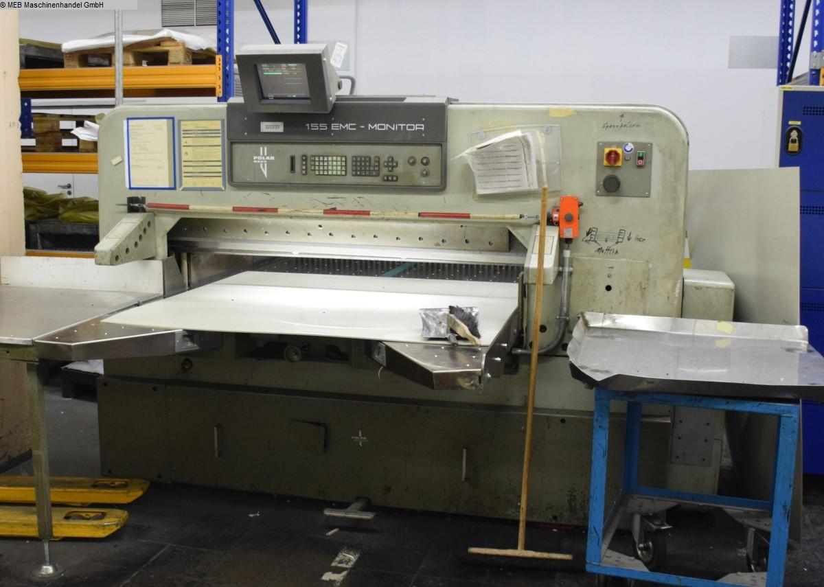 gebrauchte Schneiden Schneidmaschinen HEIDELBERG Querschneidmaschine Polar 155