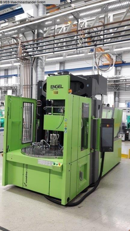 gebrauchte Spritzguß Spitzgussmaschinen (Kunststoff) ENGEL insert 500H/200 ROTARY