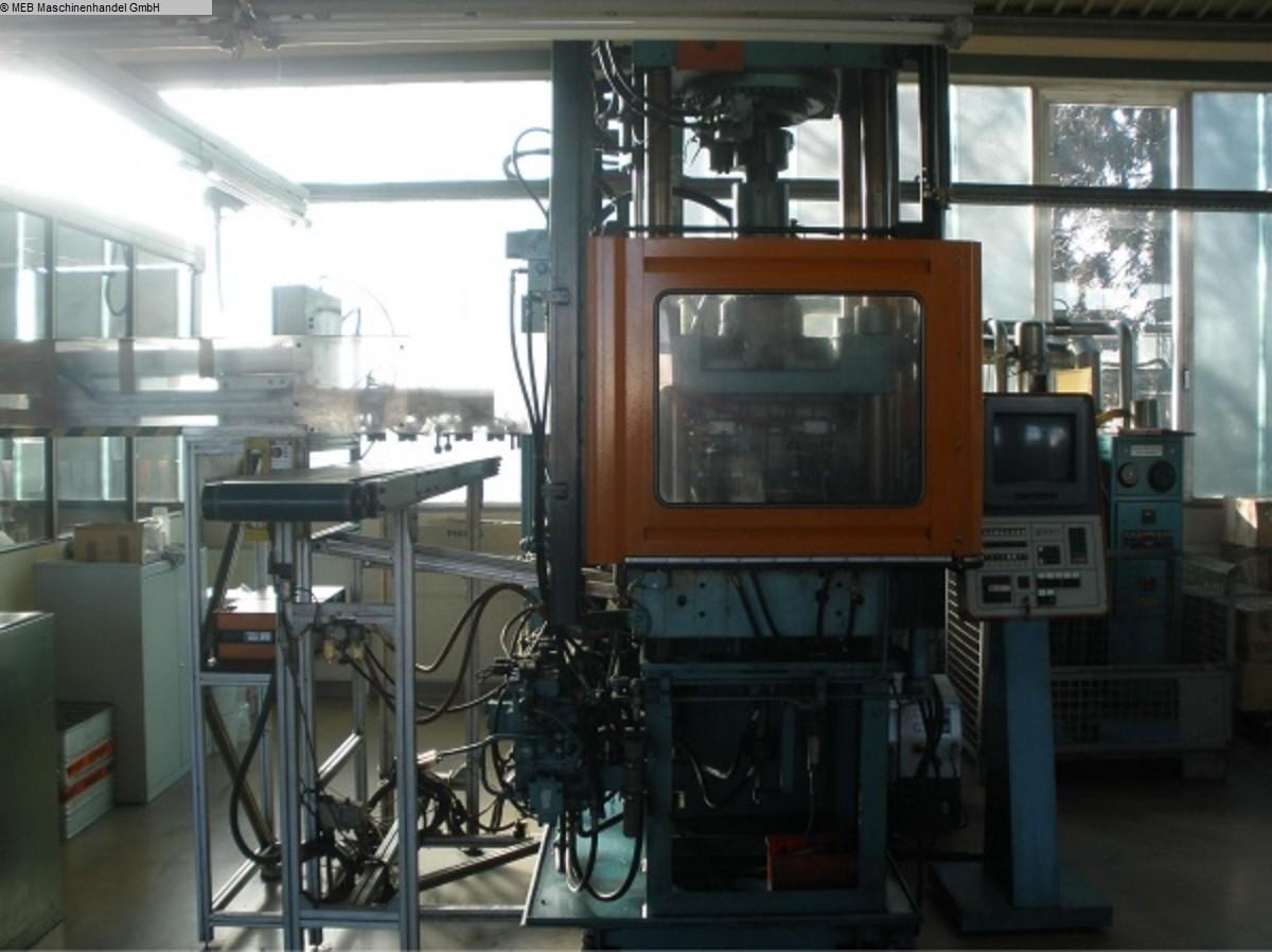 gebrauchte Spritzguß Gummi-Spritzgussmaschine KLOECKNER-FERROMATIC FM 85/160/2F