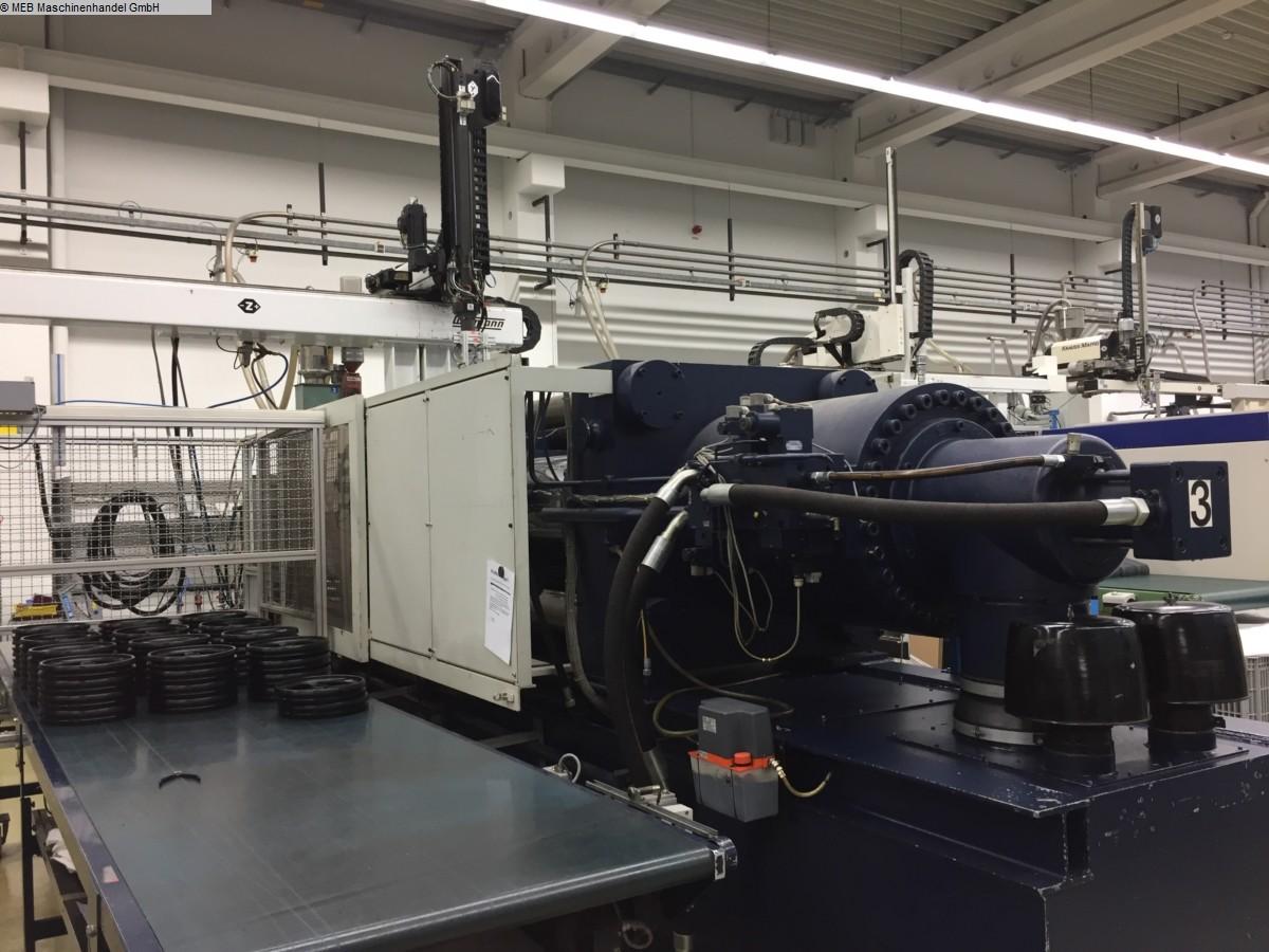 gebrauchte Spritzguß Spitzgussmaschinen (Kunststoff) KRAUSS-MAFFEI KM-420-2300B2/90