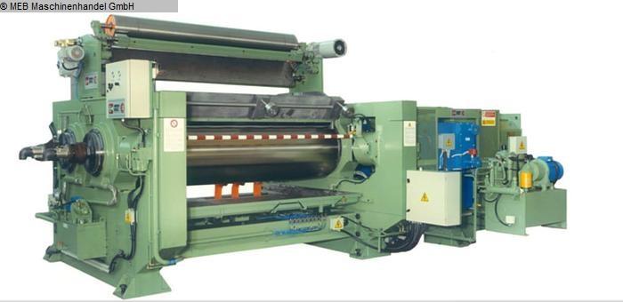 gebrauchte Mischen Walzwerk COMERIO ERCOLE Duplocom/pluridrive 560 x 1500