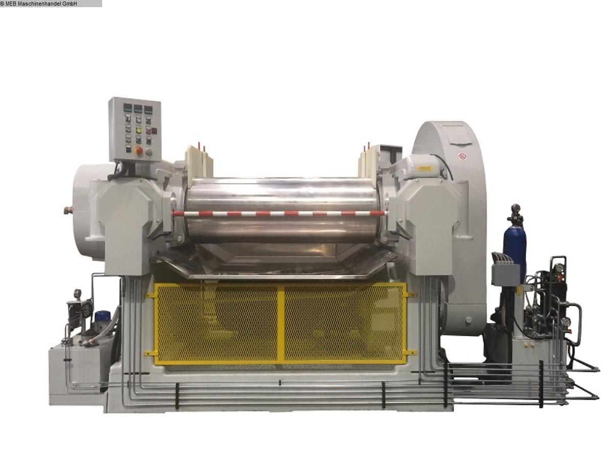 gebrauchte Mischen Walzwerk ITAL Monoblock 550x1500