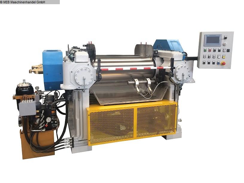 gebrauchte Mischen Walzwerk ITALMEC Monobloc 400x1000