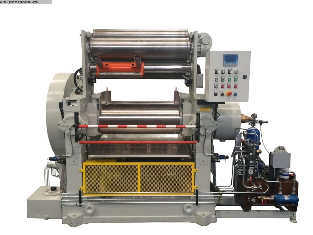 gebrauchte Mischen Walzwerk Meccaniche Moderne Monobloc 400x1000