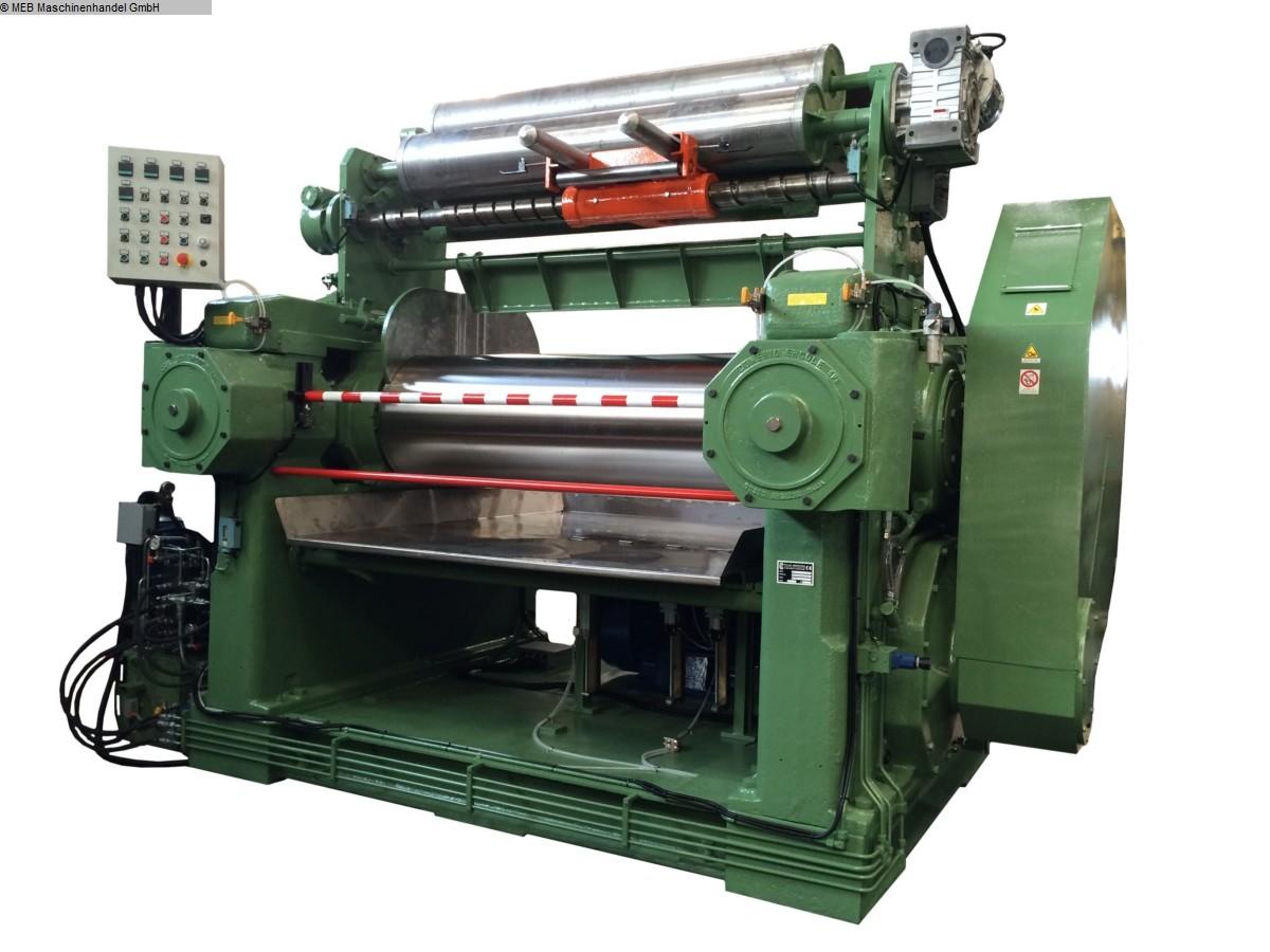 gebrauchte Mischen Walzwerk Meccaniche Moderne Monoblock 600x1800