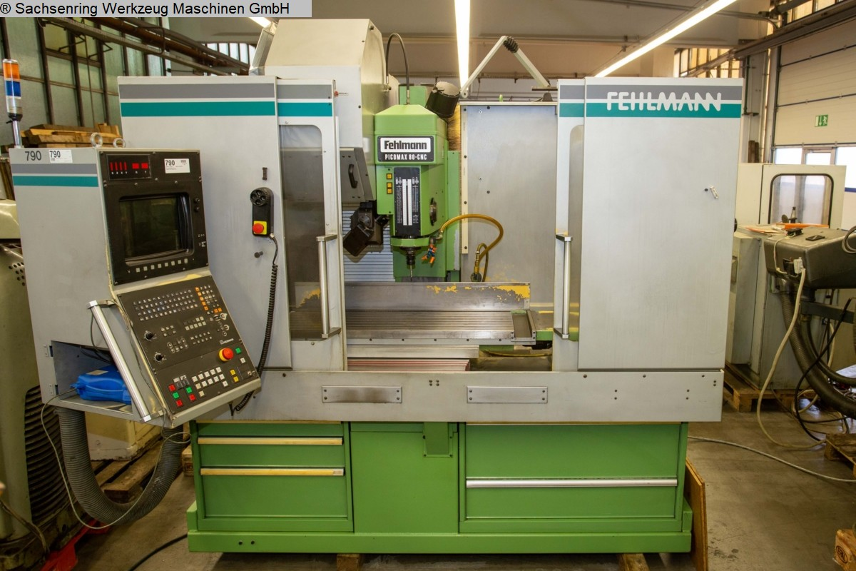 used  Machining Center - Vertical FEHLMANN Picomax 80 CNC 3/W
