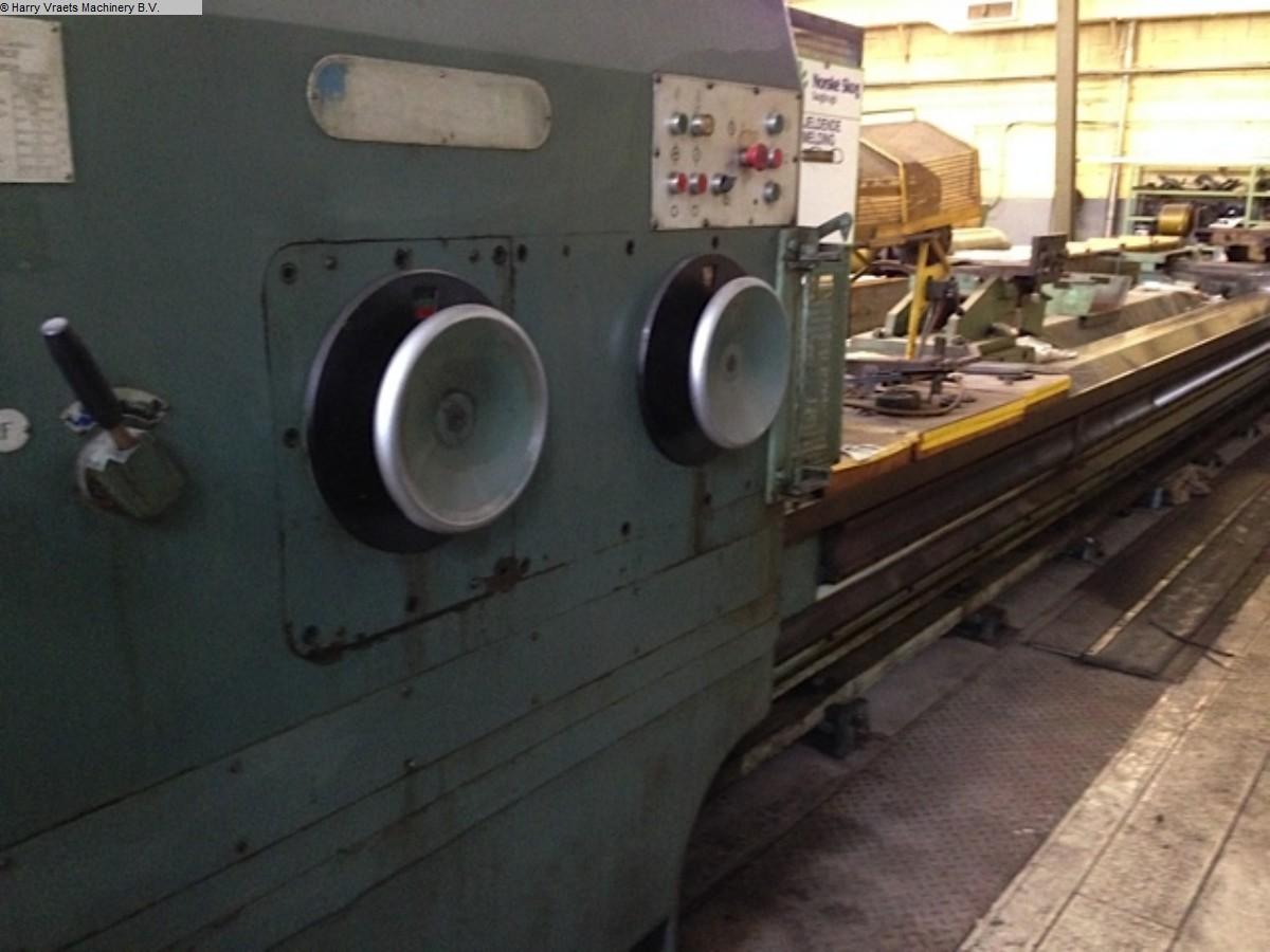 gebrauchte Maschine Schwerdrehmaschine POREBA TCG 125