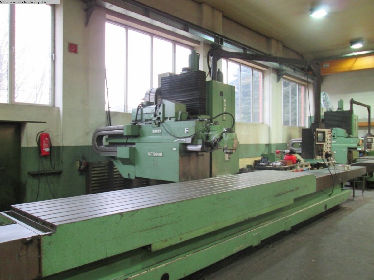 Bettfräsmaschine - Universal ZAYER KF5000CNC