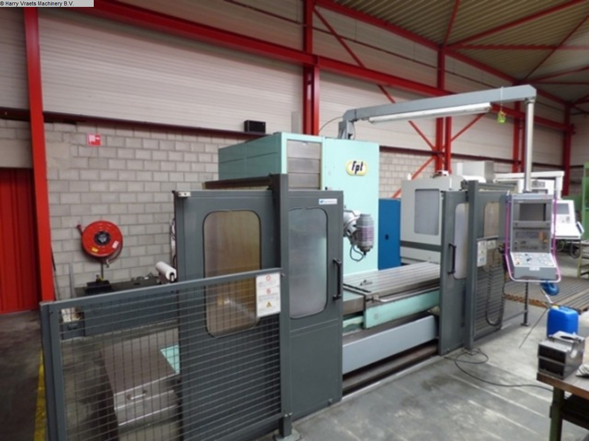 gebrauchte Fräsmaschinen Bettfräsmaschine - Universal FPT Spazio 20