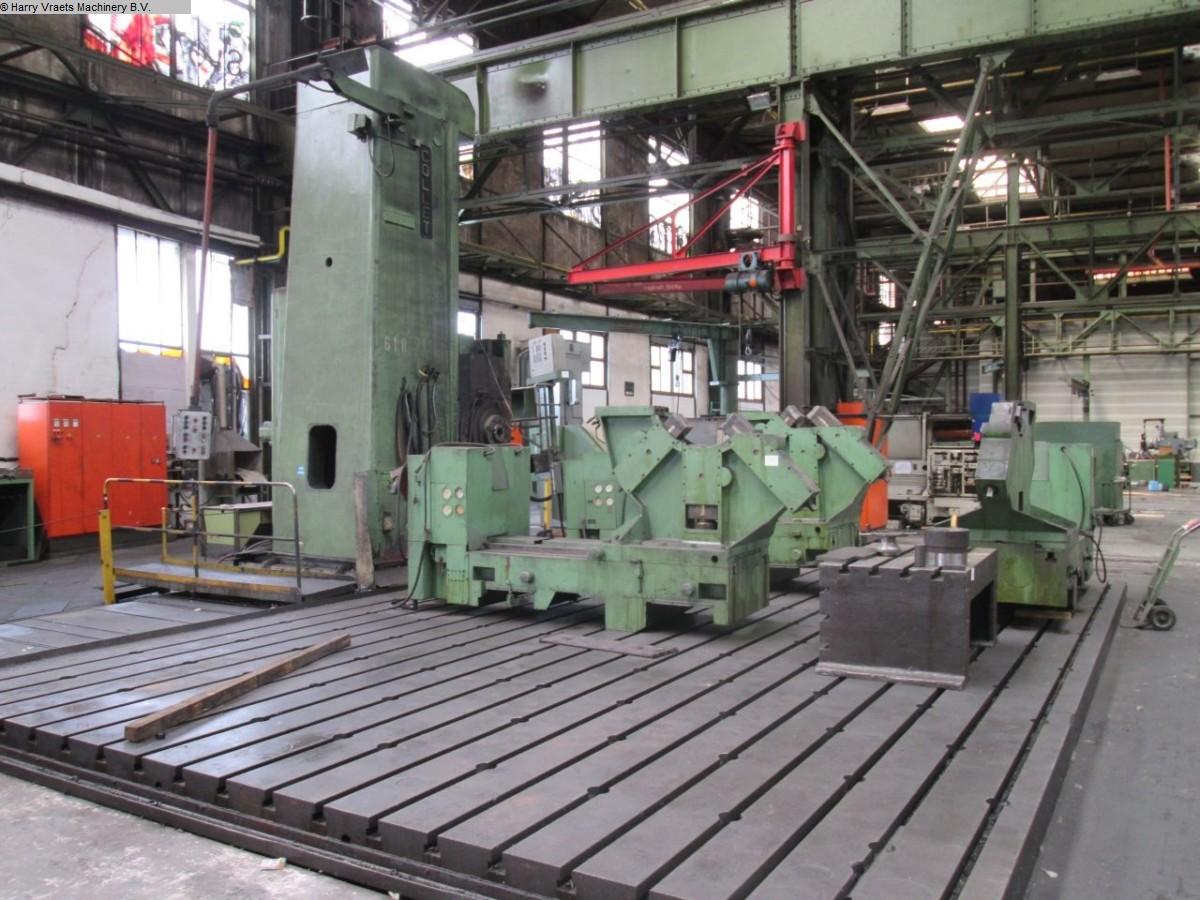 Rabljeni glodalice za bušenje / Strojni centri / Strojevi za bušenje Podni provrtanje i glodanje M / C - Hor. COLLET BFP 130