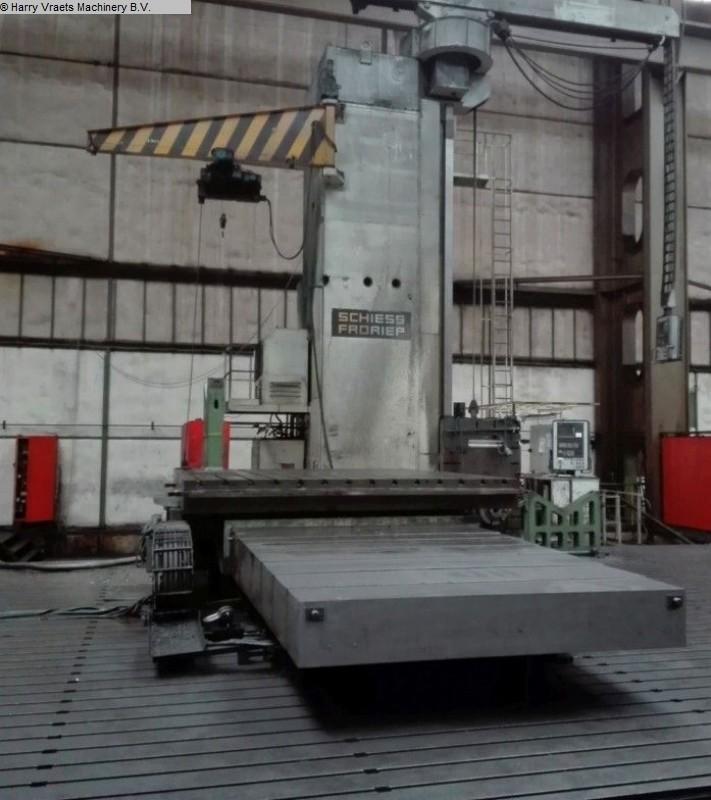 kullanılmış Delme değirmenleri / İşleme Merkezleri / Delme makineleri Zemin Tipi Delme ve Freze M / C - Hor. SCHIESS-FRORIEP 4FB 36 / 22,5 CNC