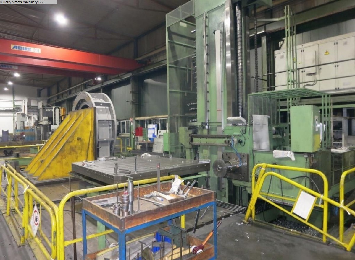 used Boring mills / Machining Centers / Drilling machines Floor Type Boring and Milling M/C - Hor. WOTAN Rapid 3 K