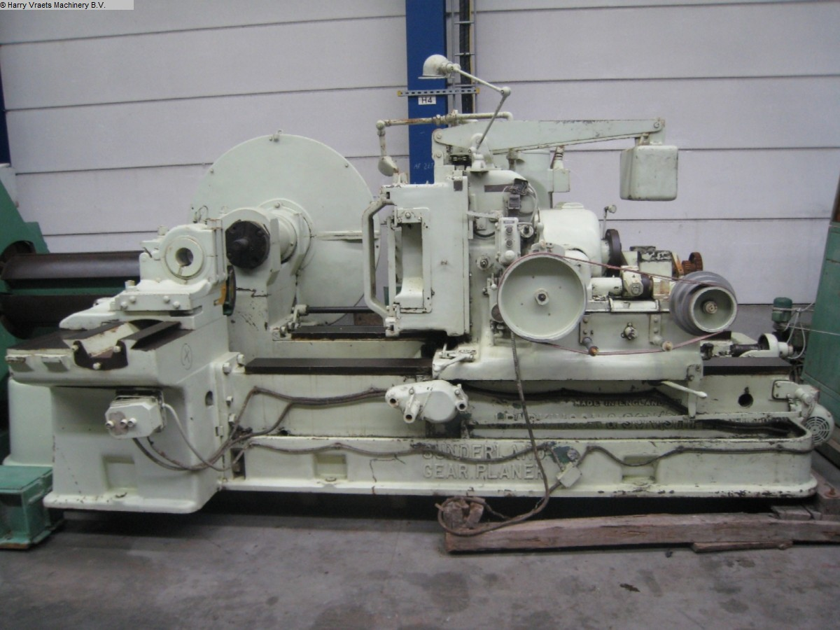 used Gear cutting machines Gear Shaping Machine PARKINGSON U. SON G250