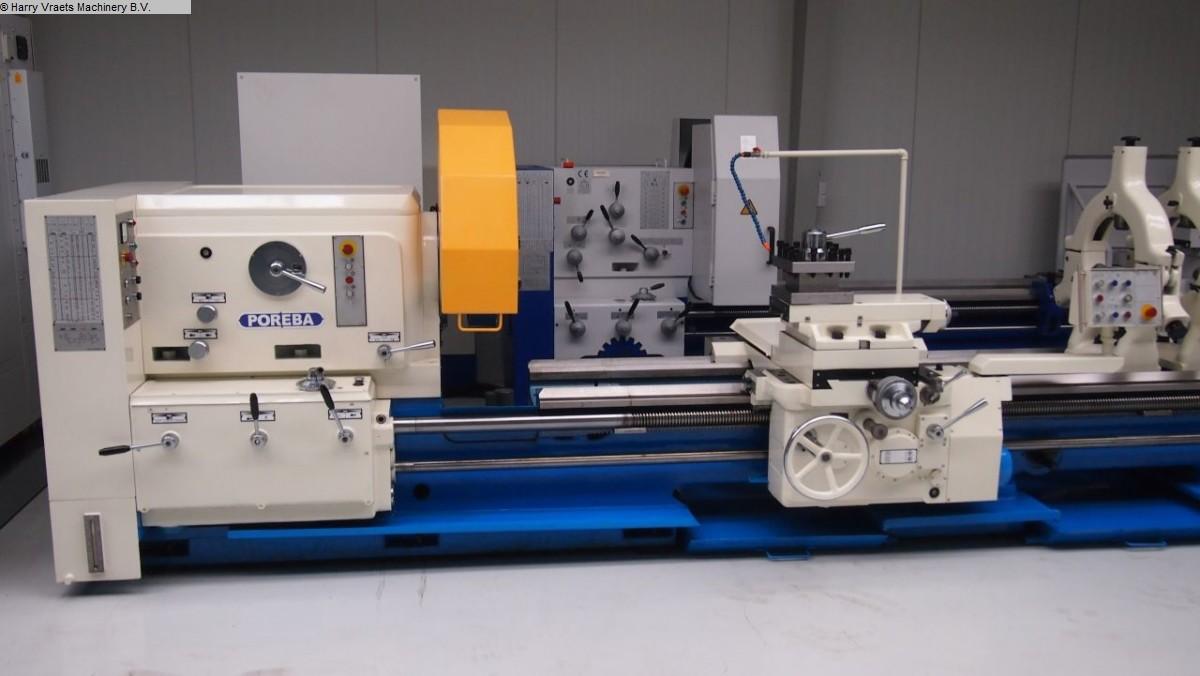 gebrauchte Drehmaschine-konventionell-elektronisch POREBA TR 100