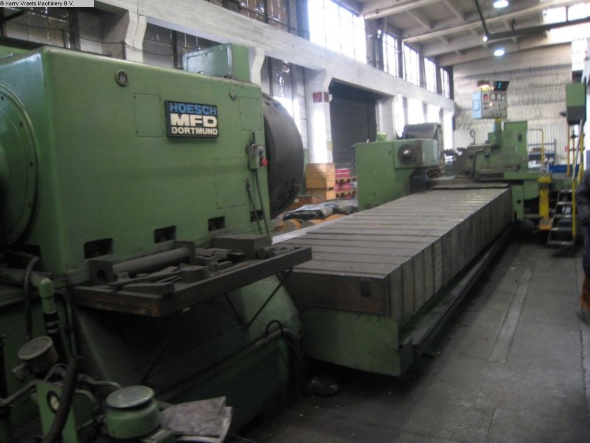 used Calibrating roll lathe MFD - HOESCH D1000 GY-YF