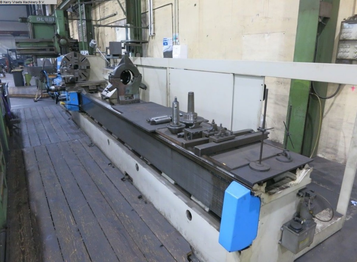 used Center Lathe BOEHRINGER DUE 800