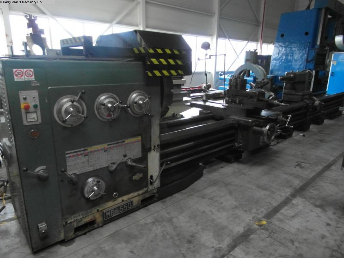 used Center Lathe PASQUINO MP550
