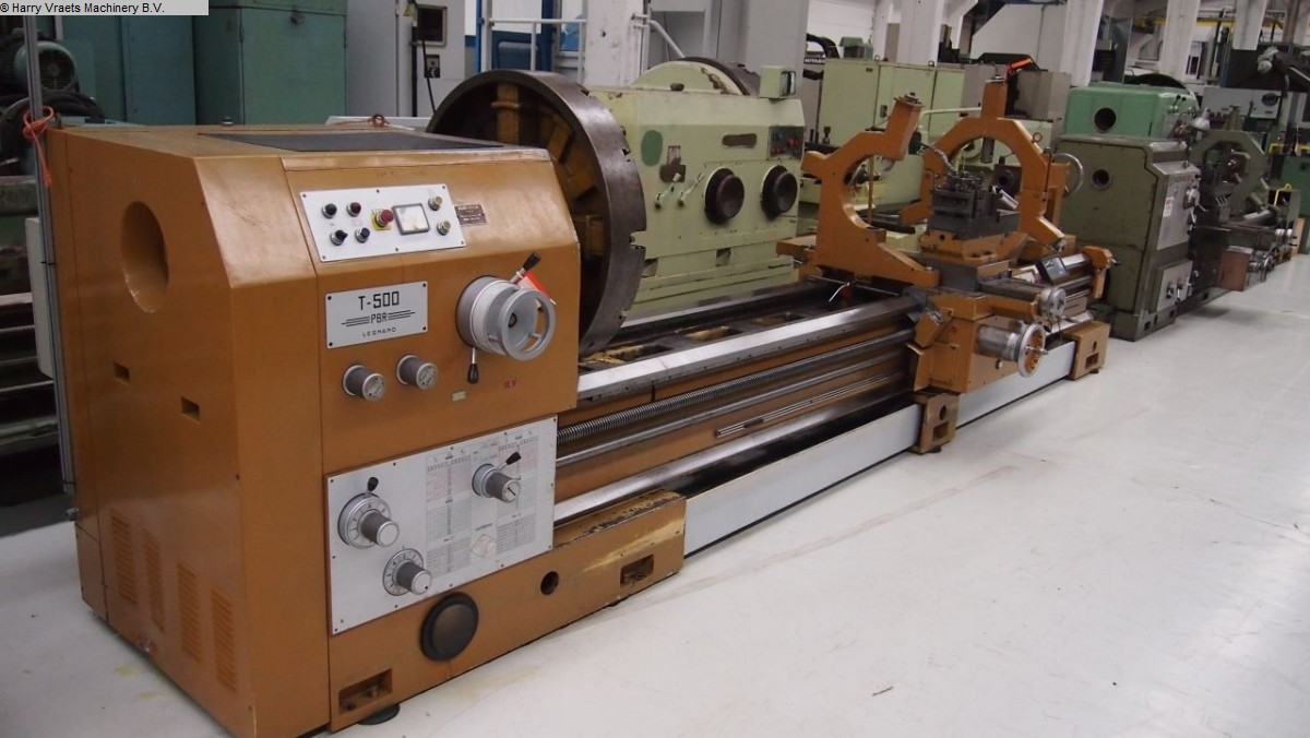 used Center Lathe PBR T-500
