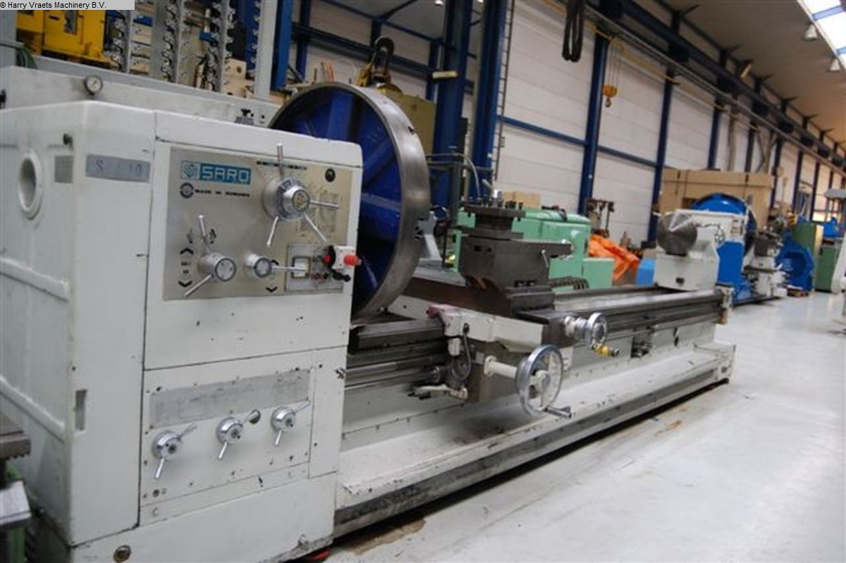 used Center Lathe SARO SPA10X4000