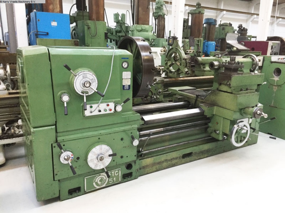 used Center Lathe TACCHI FTC 51