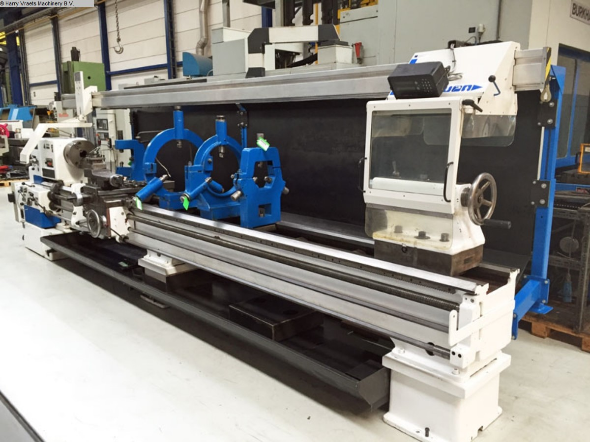 used Center Lathe TOS SU100