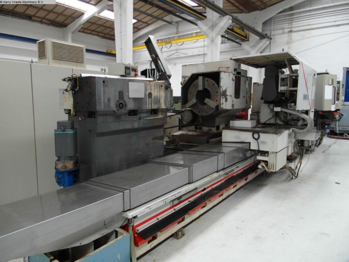 gebrauchte  CNC Drehmaschine SAFOP LEONARD 60/TT