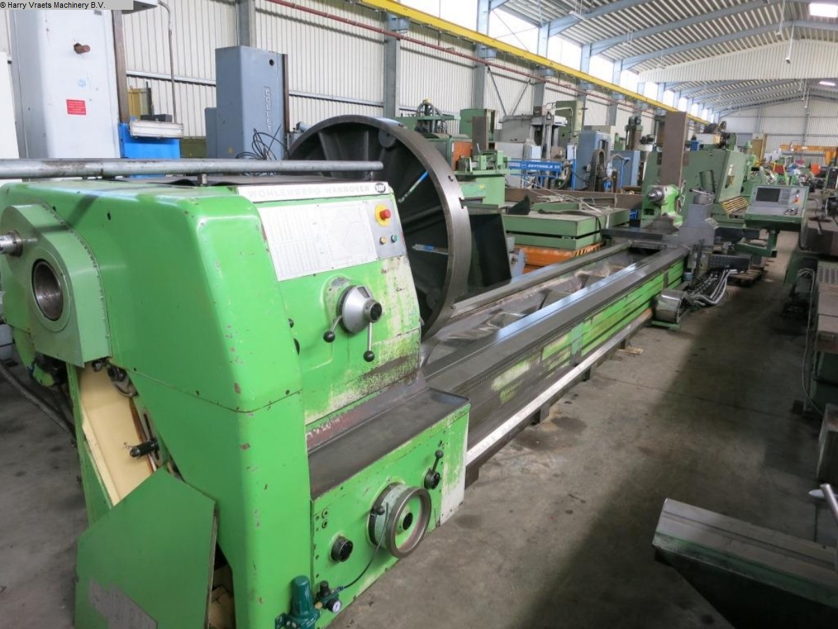 gebrauchte  CNC Drehmaschine WOHLENBERG VM 1250