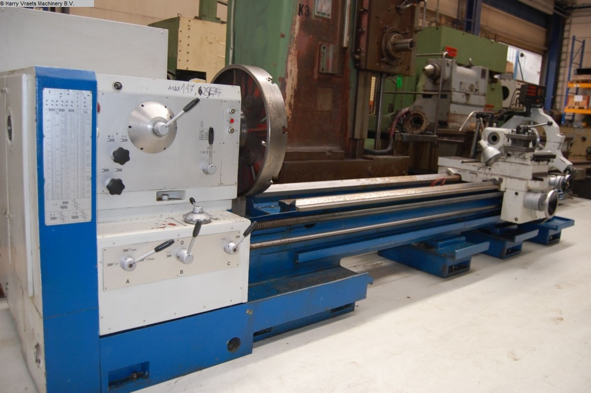used Center Lathe POREBA TPK 80