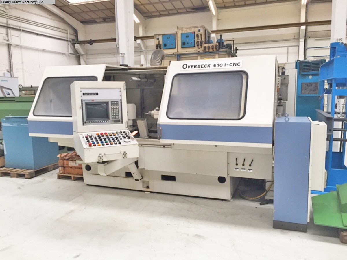 used Grinding machines Internal Grinding Machine OVERBECK 6101 CNC