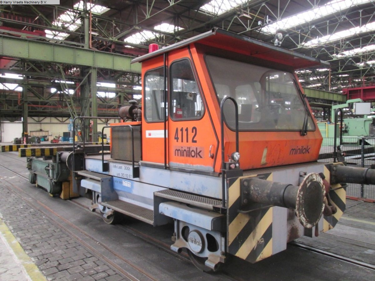 gebrauchte Transportfahrzeuge Lokomotive - Diesel Minilok DH 60