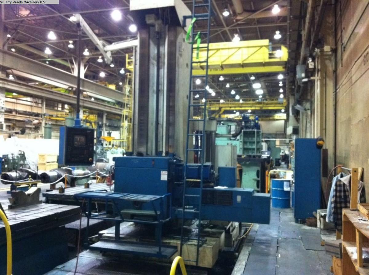 gebrauchte Bohrwerke / Bearbeitungszentren / Bohrmaschinen Plattenbohrwerk - Horizontal UNION BFP130 CNC