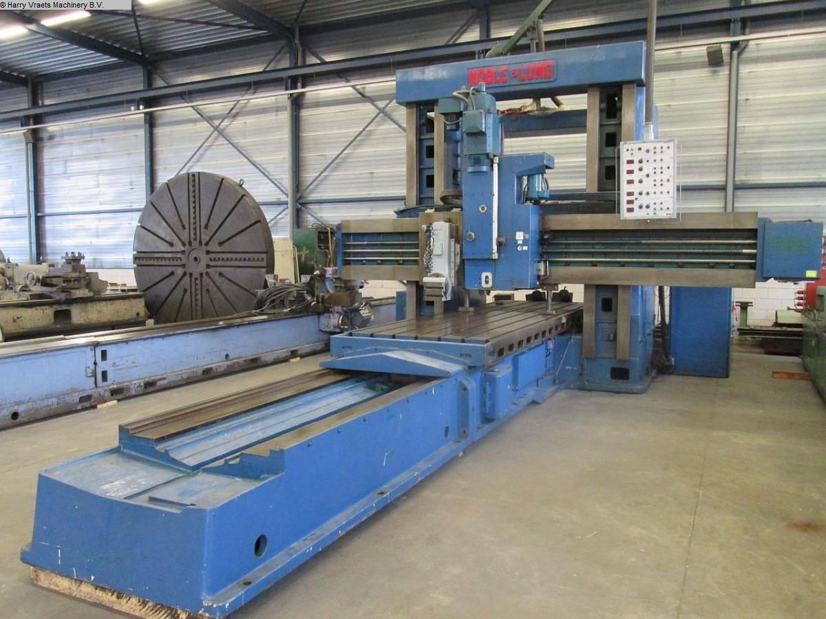 gebrauchte Fräsmaschinen Doppelständer - Langfräsmaschine NOBLE & LUND P/RLMA