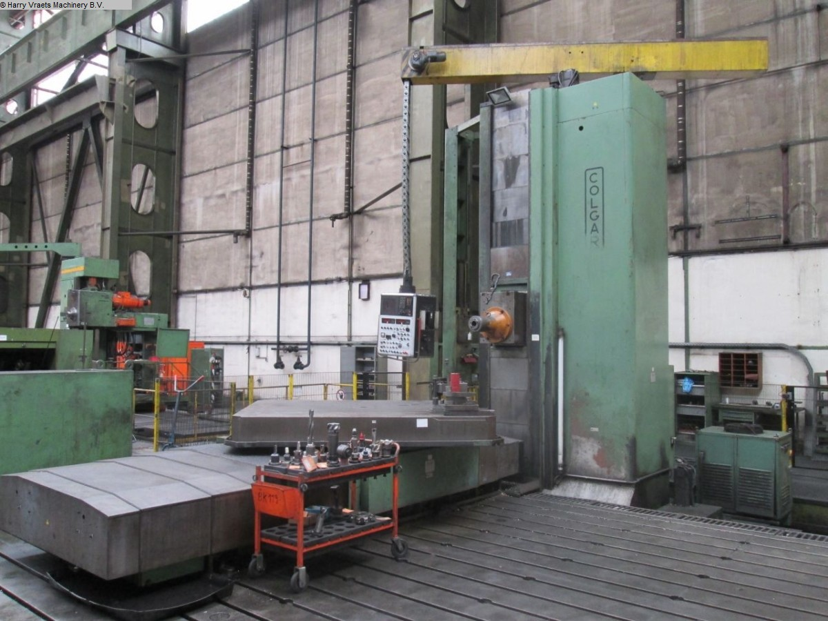 used Ram-Type Floor Boring and Milling M/C COLGAR FRAL 50