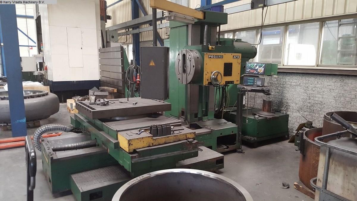 gebrauchte Bohrwerke / Bearbeitungszentren / Bohrmaschinen Tischbohrwerk PEGARD AF9