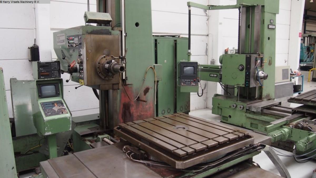 gebrauchte Bohrwerke / Bearbeitungszentren / Bohrmaschinen Tischbohrwerk TOS WH 10 NC