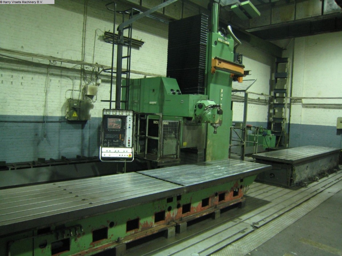 used Travelling column milling machine ZAYER KCU 12000