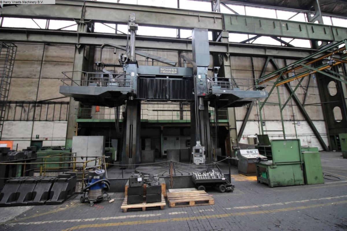 used Lathes Vertical Turret Lathe - Double Column SCHIESS-FRORIEP 3K420/450NC/C