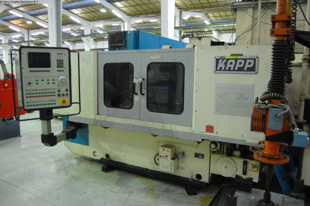 gebrauchte Verzahnungsmaschinen Zahnflankenschleifmaschine KAPP VAS 433