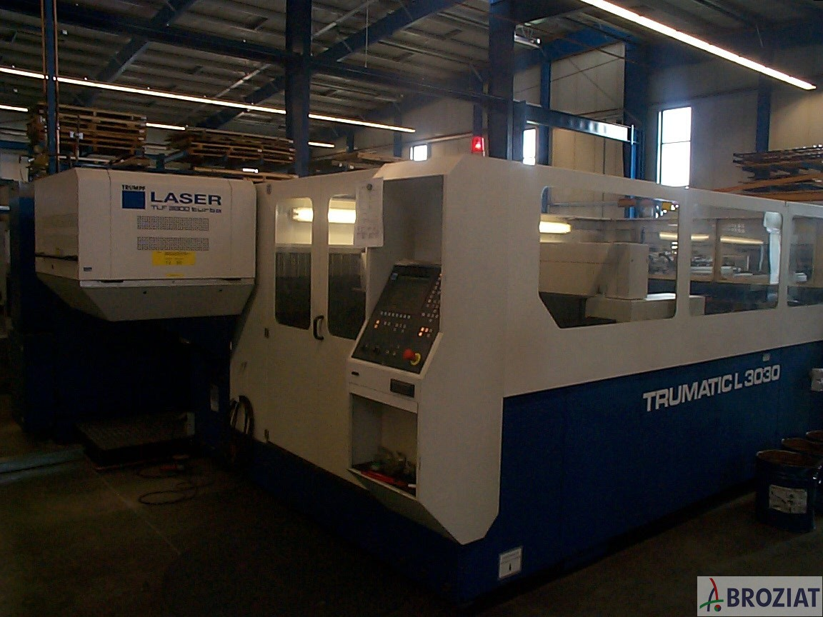 used machine Laser Cutting Machine TRUMPF TC L 3030