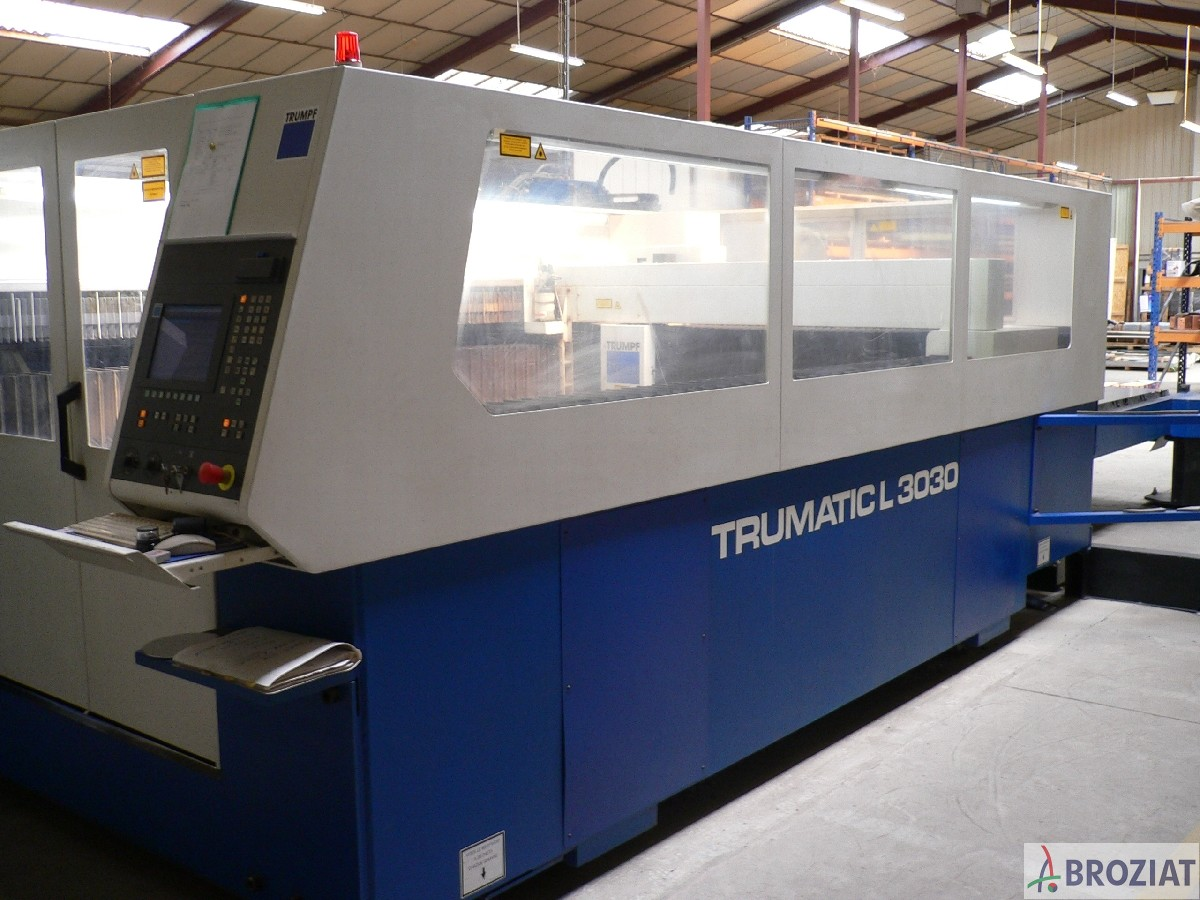 used machine Laser Cutting Machine TRUMPF TC L 3030 R