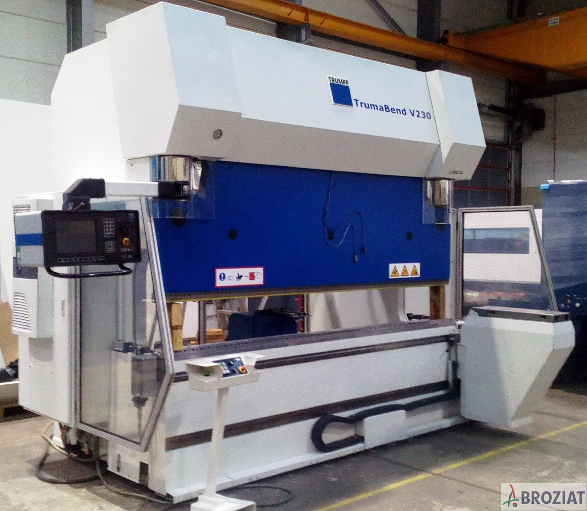 used machine Hydr. pressbrake TRUMPF V 230
