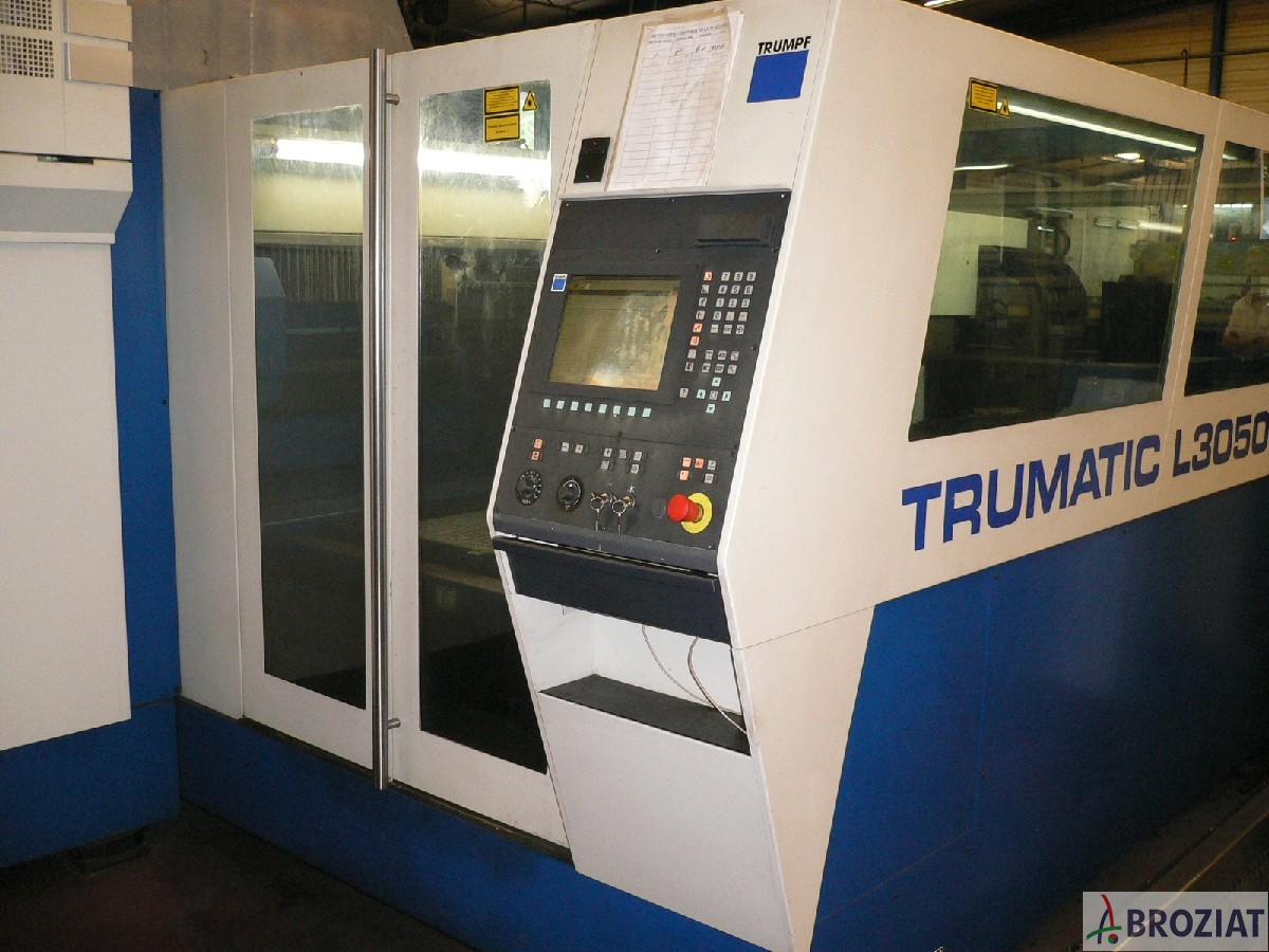 used machine Laser Cutting Machine Trumpf TC L 3050