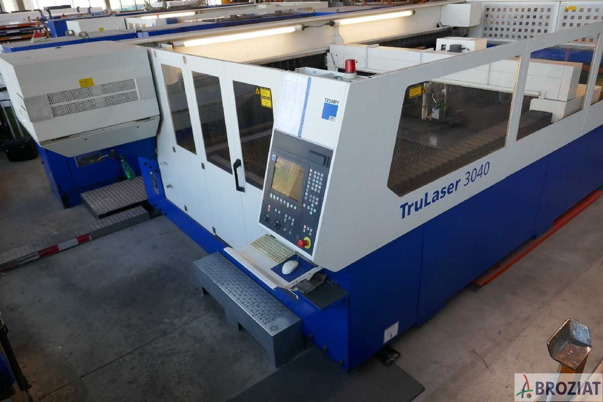 used machine Laser Cutting Machine TRUMPF TruLaser 3040