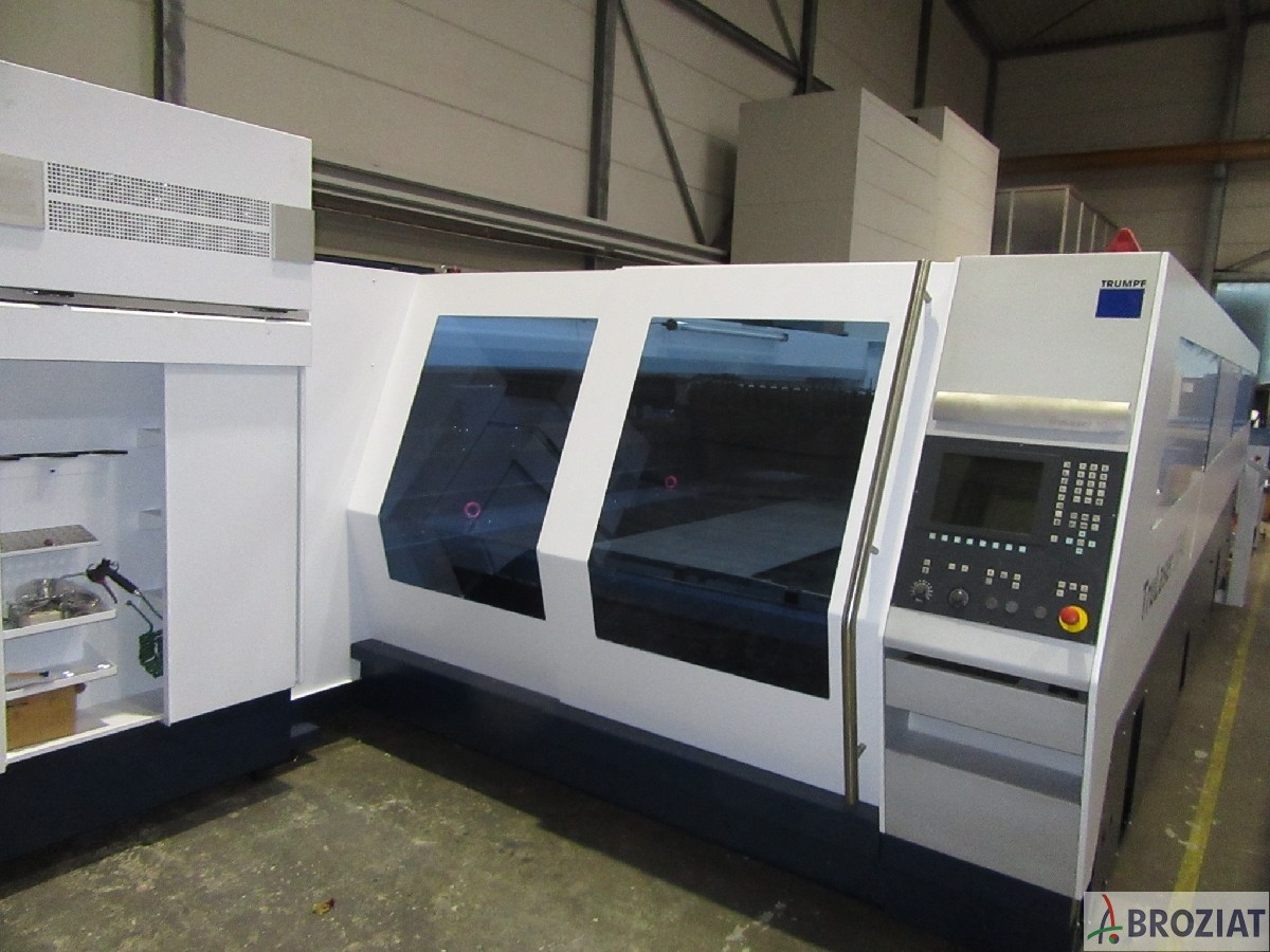 used machine Laser Cutting Machine TRUMPF TruLaser 5040 (L18)