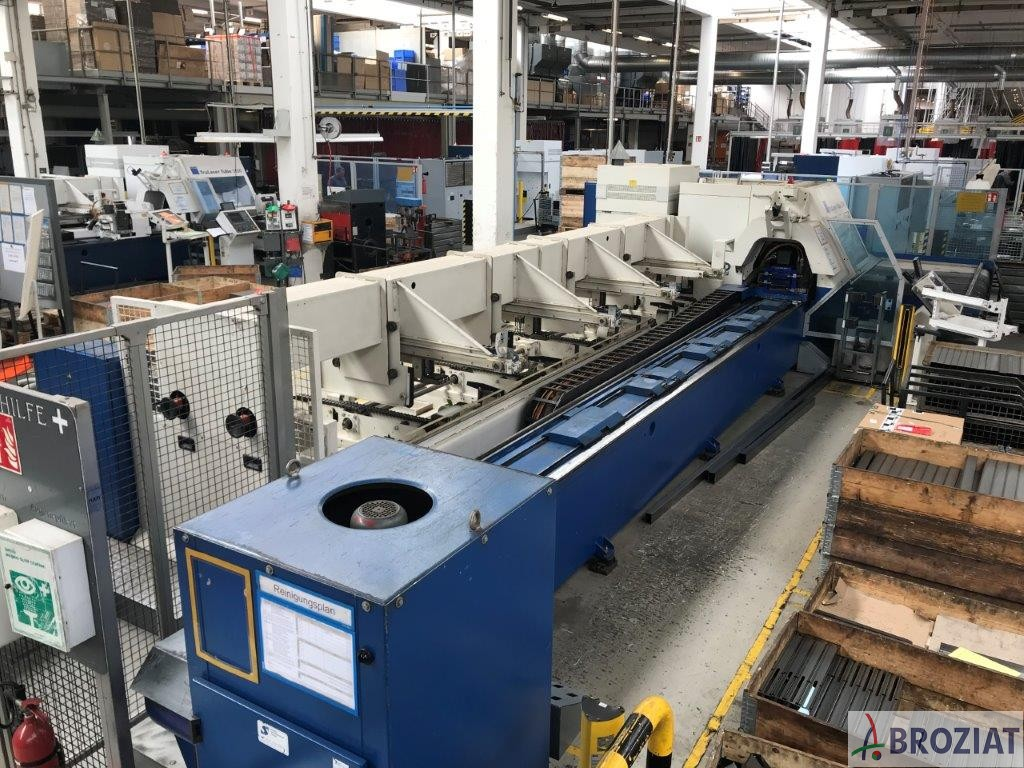 used machine Laser Cutting Machine TRUMPF TruLaser Tube 5000