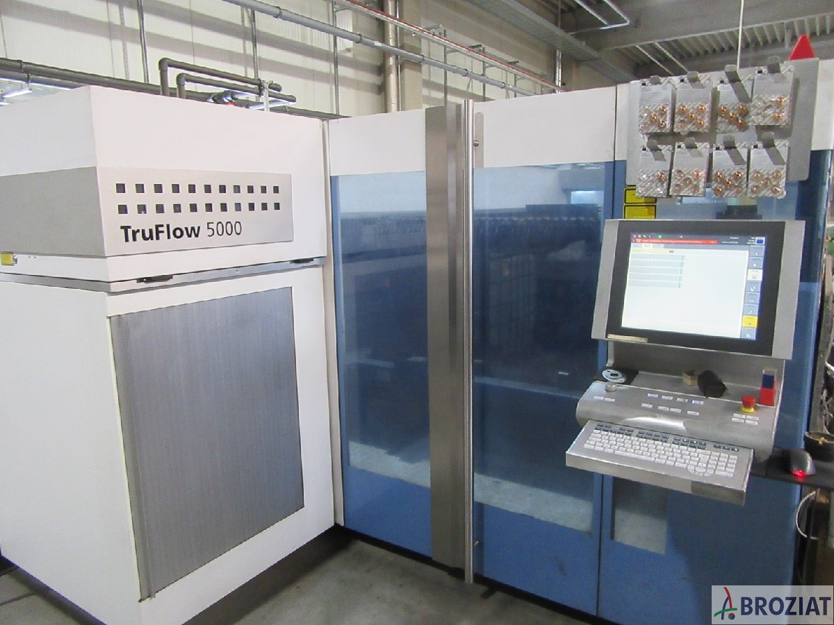 used machine Laser Cutting Machine TRUMPF TruLaser 3030 (L20)
